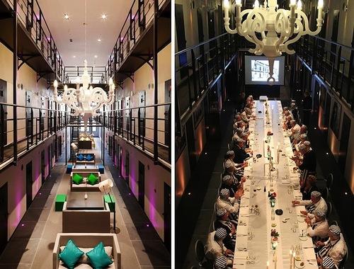 Het Arresthuis prison as a luxury hotel