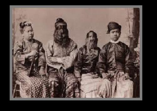 The Sacred Hairy Family of Burma