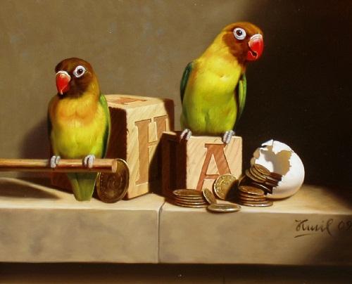 Contemporary artist Kamil Bekshev