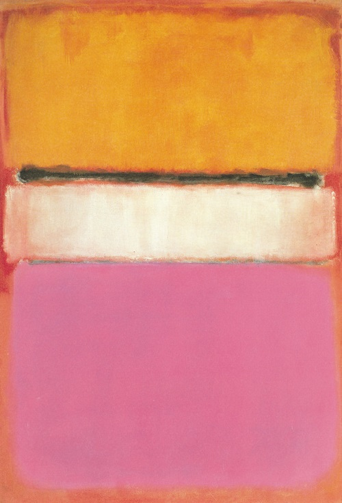 "In 2007 his painting ""White Center"" (1950) was sold by auction for 72.8 million dollars."