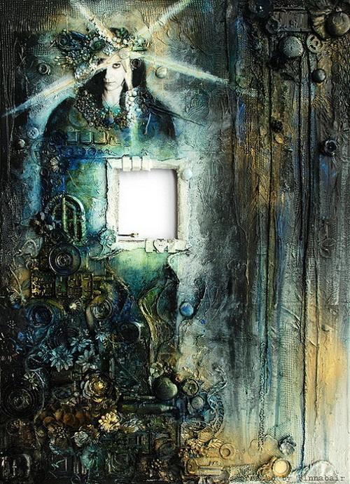 Beautiful cyberpunk art by Polish artist Anna Dabrowska