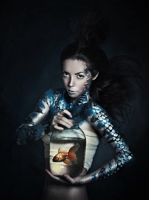 the sea inside. Photographer Elena Alfyorova, Russia