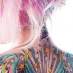 Beautiful tattooed models-Tattoo as ancient art