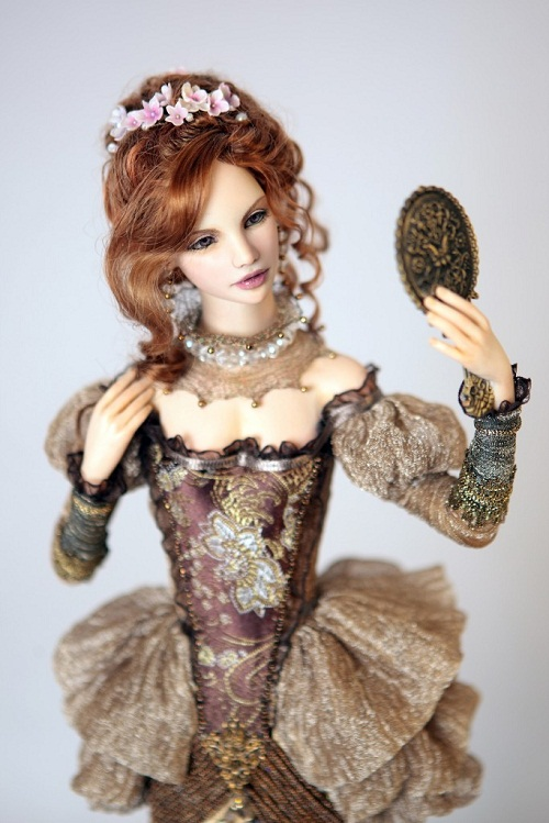 Beautiful dolls by Russian artist Irina Smolnikova
