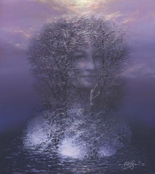 Vladislav Koval Hidden Face Painting
