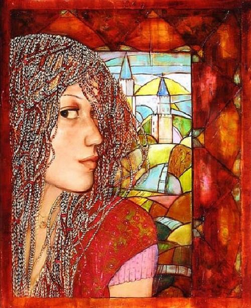 Beautiful paintings by Anastasia Sahaltueva