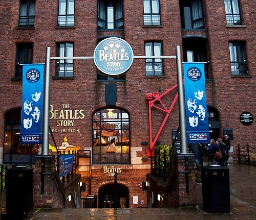 The Beatles Story Museum in Liverpool