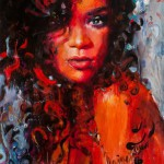 Beautiful paintings by beautiful artist Charmaine Olivia