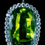 Emerald Medallion, Gold, silver, emerald, 250 ct diamonds The middle of the XIX century