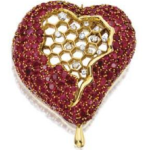 The heart of the honeycomb. In the heart of every woman there is a little bit of sweetness.