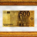 Gold souvenir 500 euros