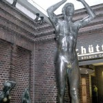 The bronze statue in the German city of Bremen