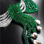 Van Cleef amp Arpels emerald and pearl necklace