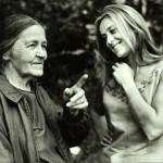 Andrei's mother and Russian actress Margarita Terekhova