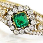 Emerald in jewelry art