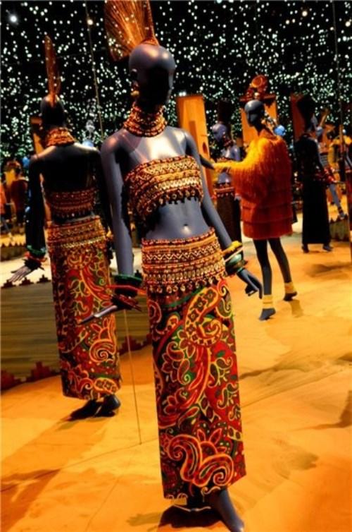 Marrakech taught me color Yves Saint Laurent