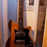 Guitar, which George played in the final concert at the Cavern