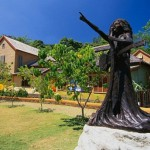 A series of monuments to Bob Marley was erected around the world