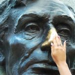 Abraham Lincoln's rubbed nose