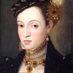 Archduchess Magdalena of Austria (1532-1590). Giuseppe Arcimboldi 1563, Italian artist (1527-1593)