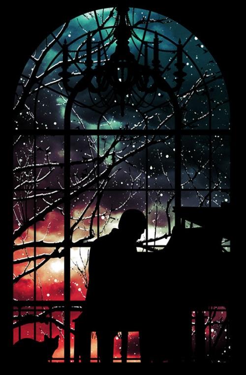 Cosmic art by graphic artist Niel Quisaba