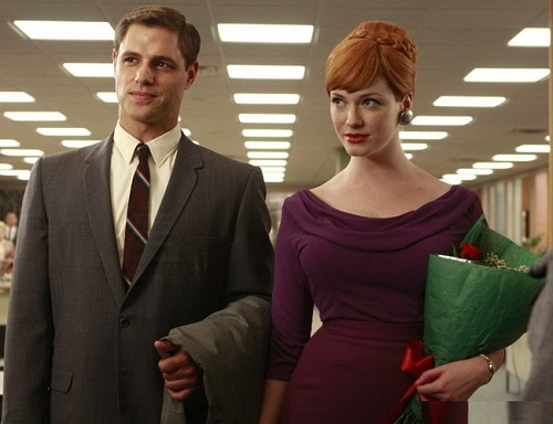 Mad Men, as Joan Harris
