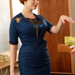 2011 movie Mad Men, as Joan Harris