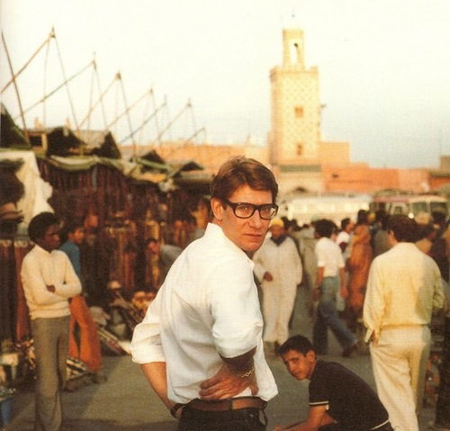 Marrakech taught me color. Yves Saint Laurent