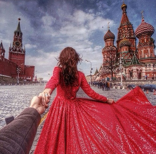 Moscow. That's where they started traveling