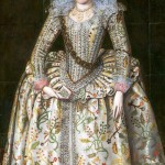 Princess Elizabeth (1596-1662), later Queen of Bohemia, painting by Robert Piquet Senior