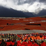 Created by famous Chinese film director Zhang Yimou, it is performed at 10,800ft above sea level.
