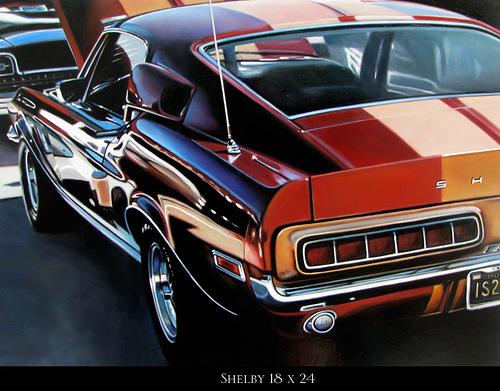 Hyperrealistic Oil Paintings Of Cars By Cheryl Kelley
