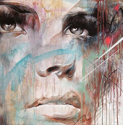 female portraits by Danny O'Connor