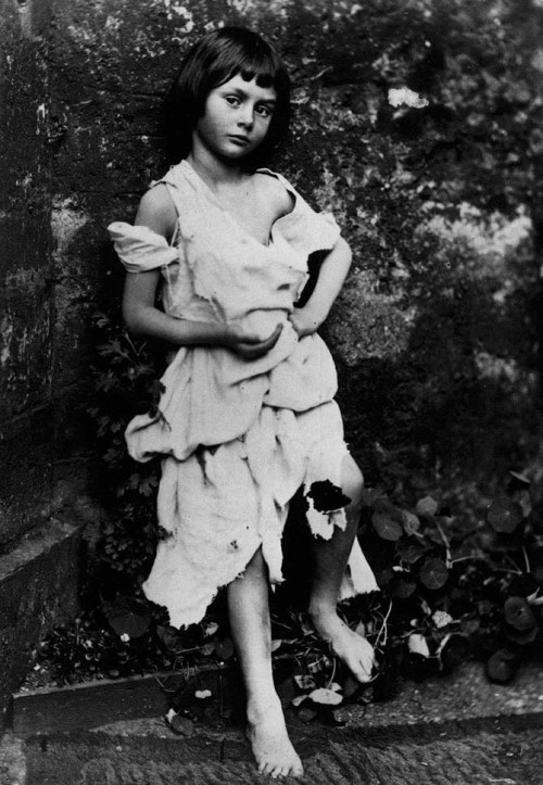 Alice Liddell from Wonderland age 7, photo by Lewis Carroll, 1859