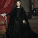 Portrait, painted by Velazquez in-law, Juan Bautista del Mazo. 1666.