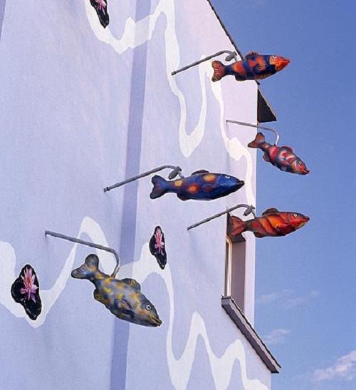 Das Fisch-Haus. Gustav Adolf-Straße 100-103, Foto by Architekt Robert Conrad