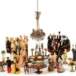 Dina Vierny is also known as a collector of antique dolls