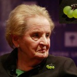 Madeleine Albright at a forum on global issues in March, 2009