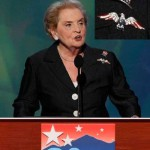 Madeleine Albright at the Democratic National Convention, 2008