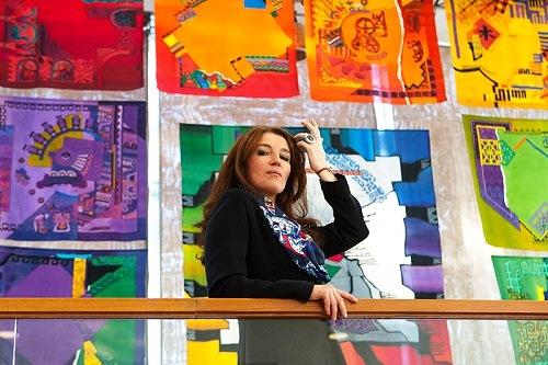 Beautiful Russian artist and designer Evgenia Miro