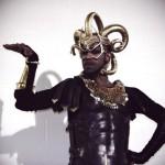 Madonna's Gladiator Dancer wearing nOir Fish Scale necklace!