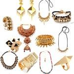 Gwen Stefani noir jewelry