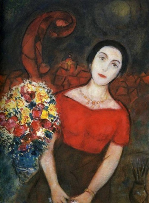 Beauty will save three muses of marc chagall beauty will for Biographie de marc chagall