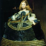 Velazquez. Diego - Portrait of the Infanta Margarita at eight years old, in 1659
