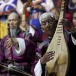 Among the performers are members of the Naxi Ancient Music Orchestra who played on a specially-constructed on stage.