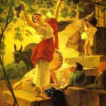 Girl Gathering Grapes in a Suburb of Naples 1827, State Russian Museum, Russia