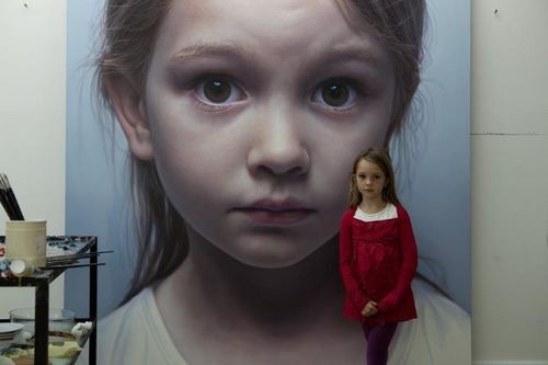 Gottfried Helnwein – the Austrian and Irish artist