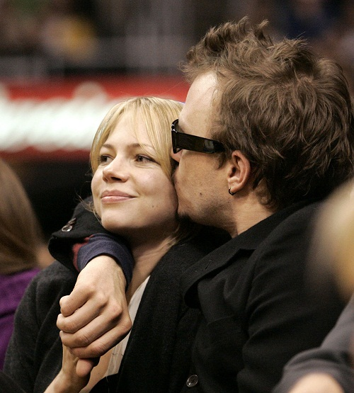 And this was she who told Heath Ledger to pack up and move out of her home in September 2007