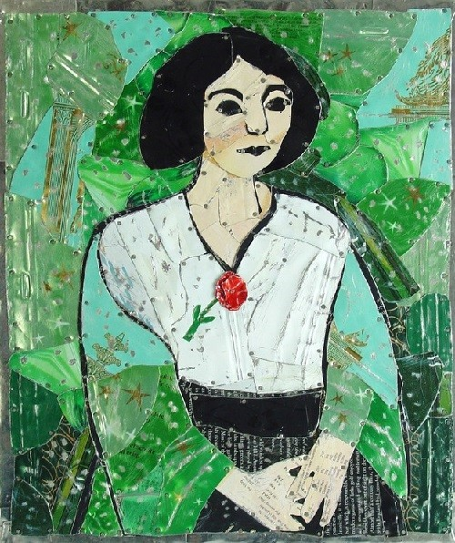 Matisse's Woman in green