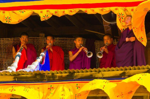 Monastic festival